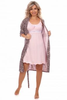Новинка: комплект: халат и сорочка Кетлен